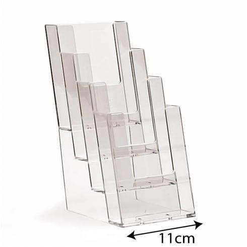 1/3 A4 leaflet holder: 4 tier-counter (leaflet & brochure holders)