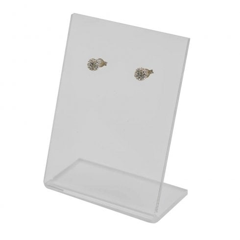 1 pair stud display (acrylic jewellery & earring display)