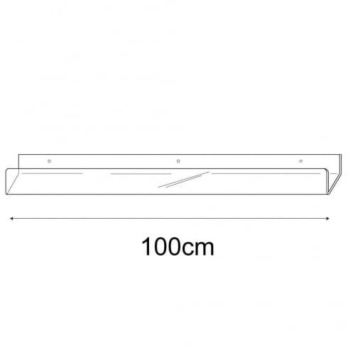 100cm card rack-wall (acrylic card rack)