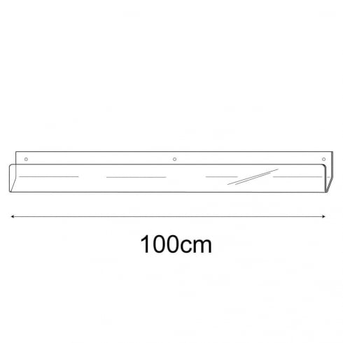 100cm economy card rack-wall (card rack & card display)