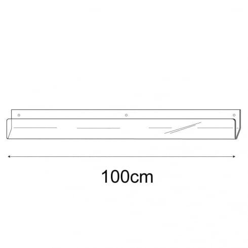 100cm economy card rack-wall (card rack & card display)