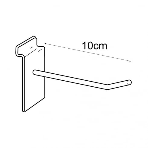 10cm prong-slatwall (metal hooks & prongs for slatwall)