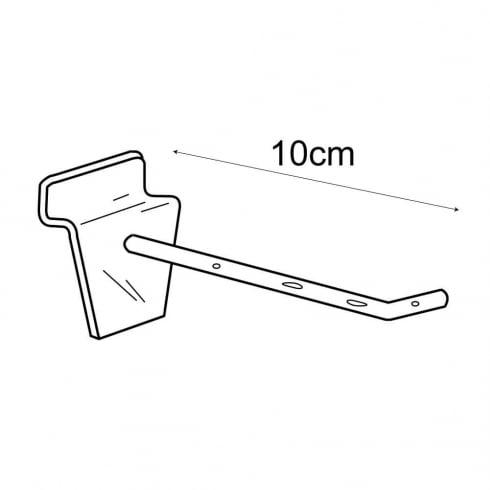 10cm prong-slatwall (plastic hooks & prongs for slatwall)