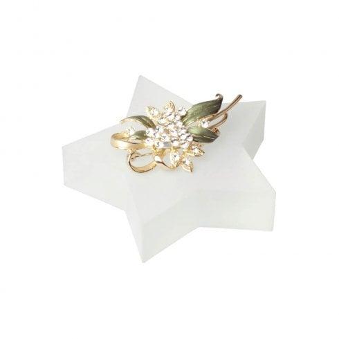 10cm star (solid acrylic blocks & shapes)
