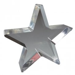 10cm star (solid acrylic blocks & shapes)