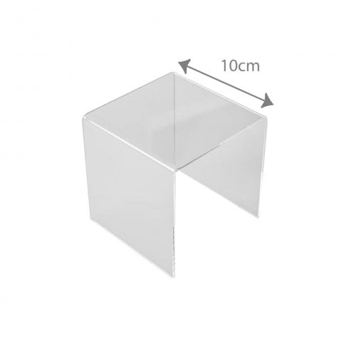 10cm three sided stand (acrylic display stands)