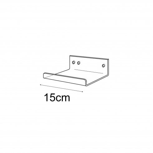 10cmx15cm lipped shelf-wall (cut down)