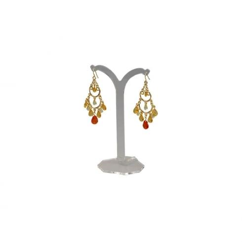 14cm tree stand: clip & hook earrings (earring display)