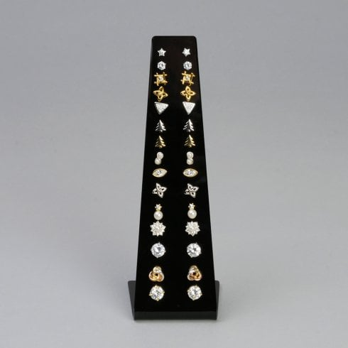 15 pair stud display (acrylic jewellery & earring display)