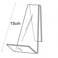 15cm book stand (shop display equipment)