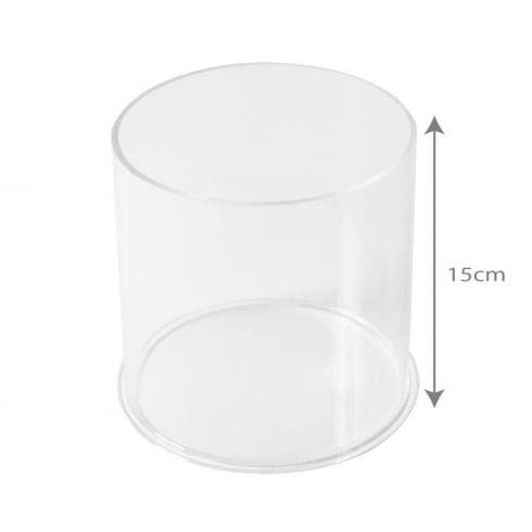 15cm circular tub (acrylic tubs & containers)