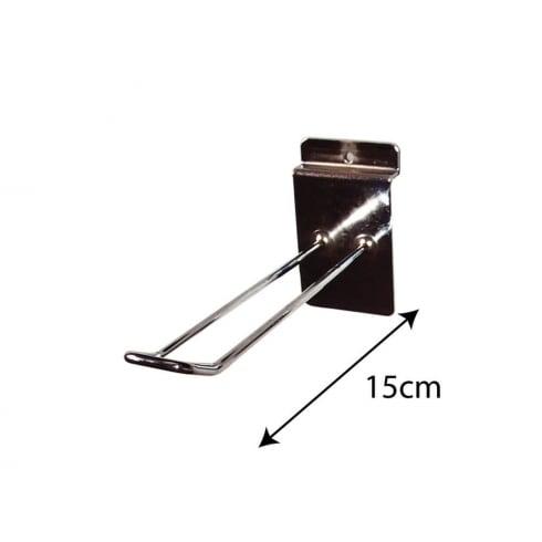 15cm euro prong-slatwall (metal slatwall prongs & hooks)