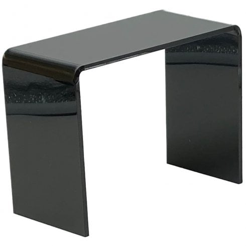 15cm platform (Smoke black acrylic display platforms)