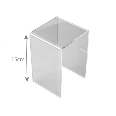 15cm riser (acrylic display stands)