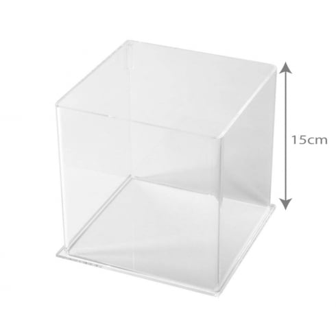 15cm square tub (acrylic tubs & containers)