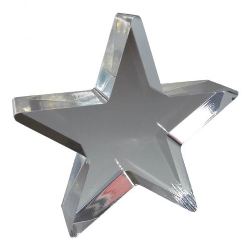15cm star (solid acrylic blocks & shapes)