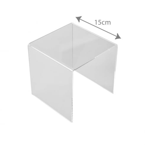 15cm three sided stand (acrylic display stands)