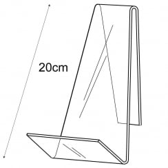 20cm book stand (shop display equipment)