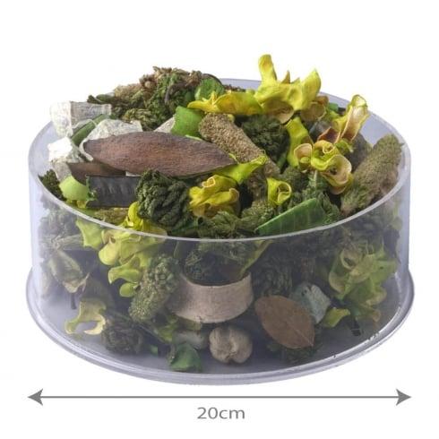 20cm circular tray (acrylic trays & tubs)