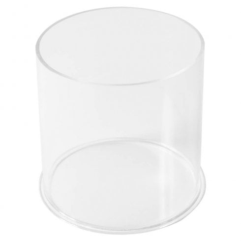 20cm circular tub (acrylic tubs & containers)