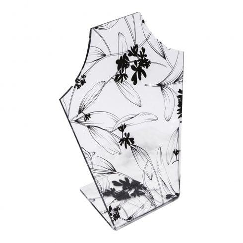 20cm necklet: flat front
