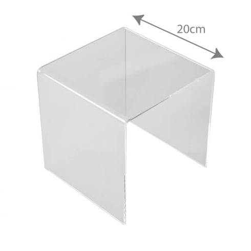 20cm three sided stand (acrylic display stands)