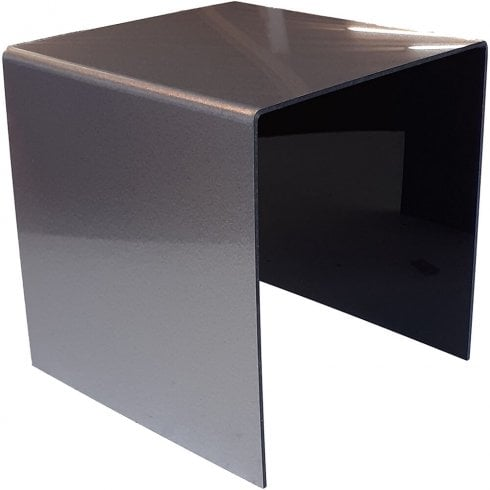 20cm three sided stand - Silver glitter