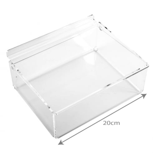 20cm tray+lid-slatwall (trays & tubs for slatwall)