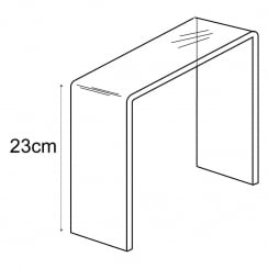 23cm platform (acrylic display platforms)