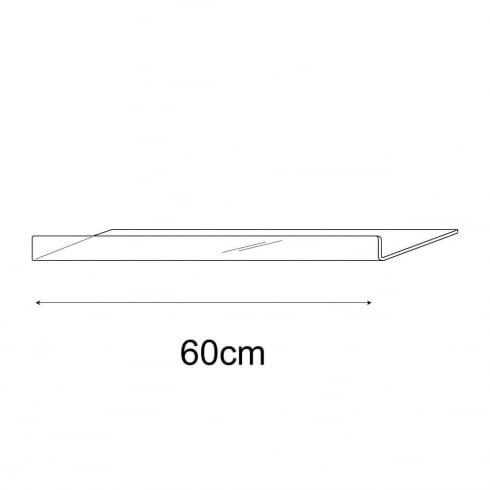 25cmx60cm reversible shelf (acrylic shelf)