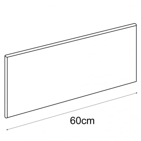 25cmx60cm shelf (shelf cable system)