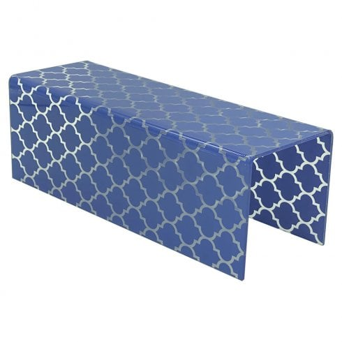 25x 10cm patterned sidelong riser