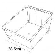 28cm budget dump bin-slatwall (trays & tubs for slatwall)