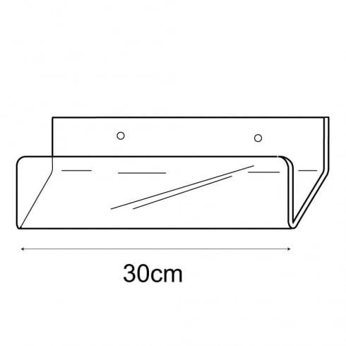 30cm card rack-wall (acrylic card rack)