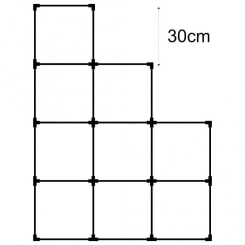 30cm cube kit 3 (acrylic cube storage system)