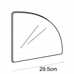 30cm curved panel (storage cube system)