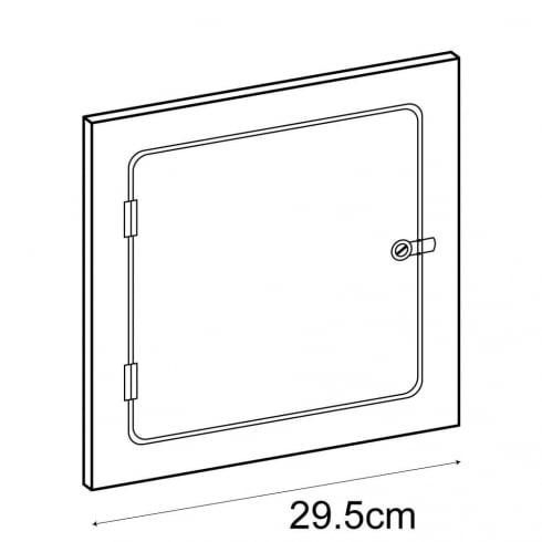 30cm door (acrylic cube display cases)