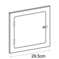 30cm door (acrylic cube display cases)