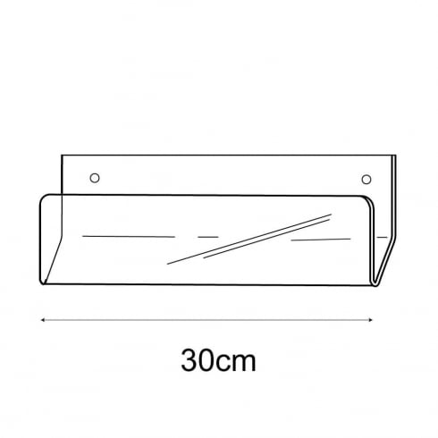 30cm economy card rack-wall (card rack & card display)