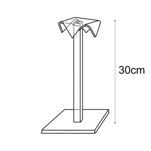 30cm hat stand (jewellery & fashion display)