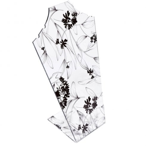 30cm necklet: flat front