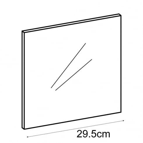 30cm panel (acrylic cube storage system)