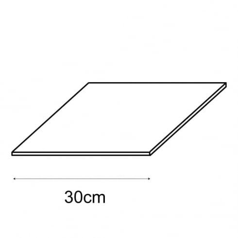 30cm shelf panel (storage cube system)