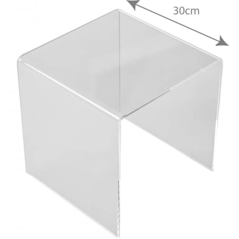 30cm three sided stand (acrylic display stands)