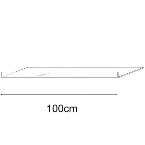 30cmx100cm reversible shelf (acrylic shelf)