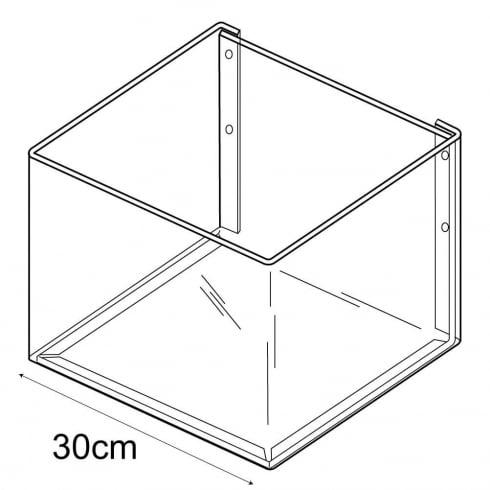 30cmx30cm bin-wall (wall fixing trays & tubs)