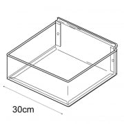 30cmx30cm tray-slatwall (trays & tubs for slatwall)