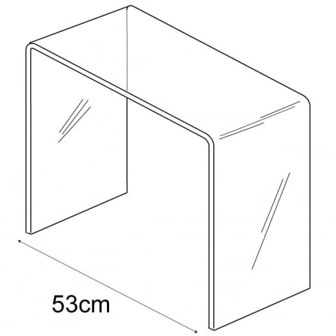 35cm giant platform (acrylic tables & platforms)