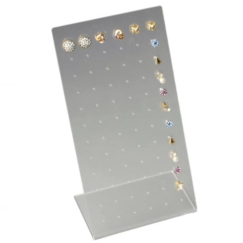 36 pair stud display (acrylic jewellery & earring display)