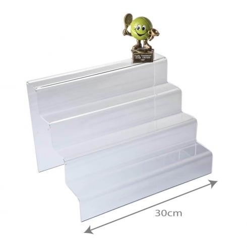 4 step (acrylic display steps)